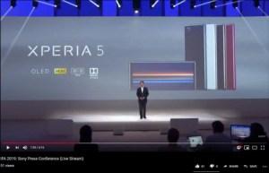 Sony Xperia 5 : la diffusion d'un essai de stream aurait dévoilé le smartphone