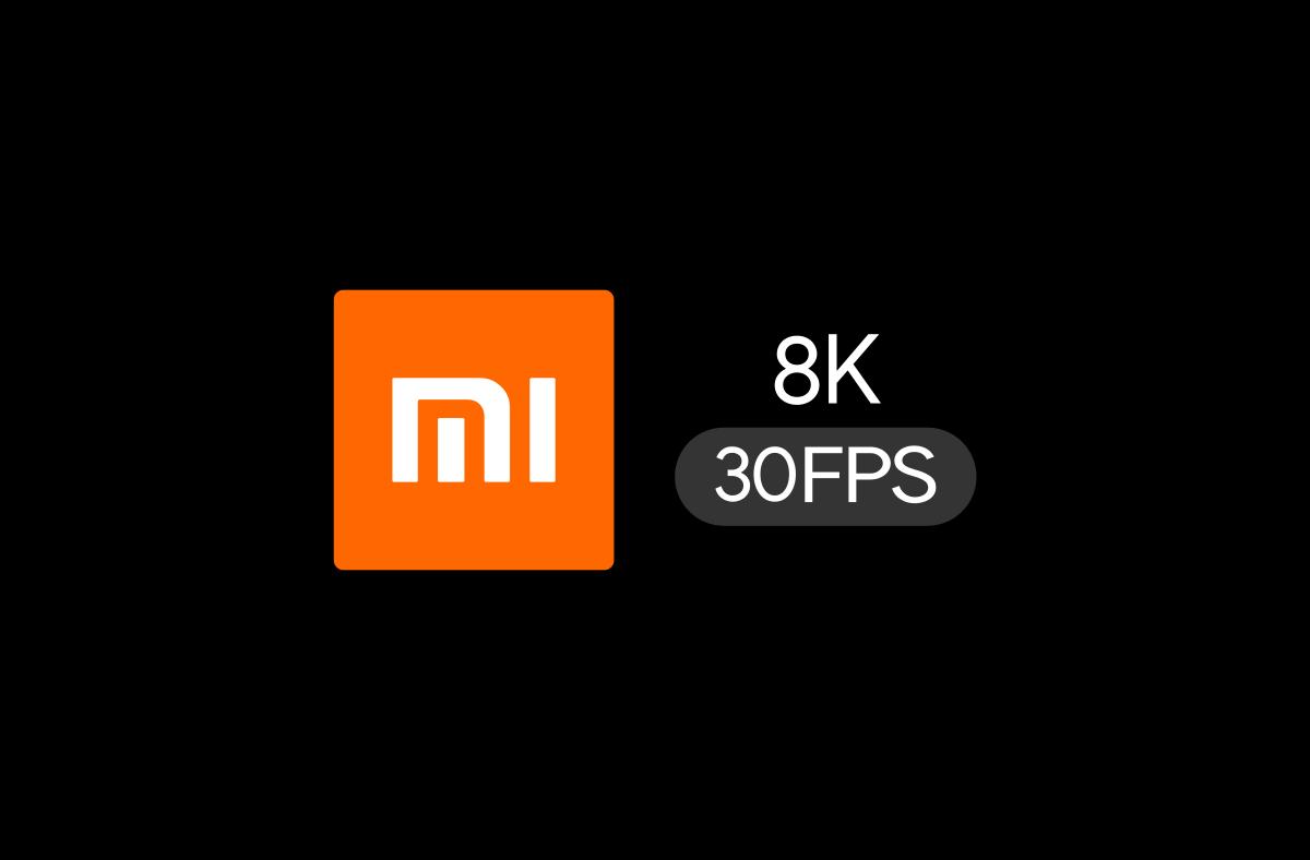 Xiaomi : un smartphone capable de filmer en 8K à 30 fps serait dans les tuyaux