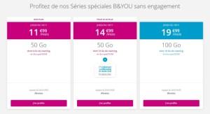 Bouygues Telecom continue de proposer Internet illimité le week-end avec son forfait mobile 50 Go