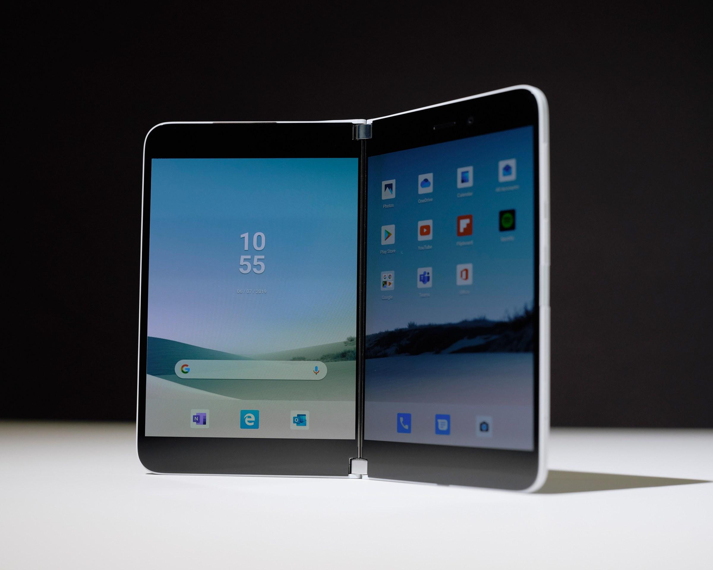 Microsoft Suface Duo : un appareil 2-en-1 sous Android loin d'être terminé