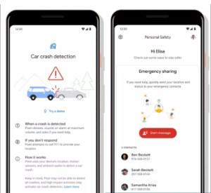 Le Google Pixel 4 pourrait détecter vos accidents de voiture et appeler les urgences