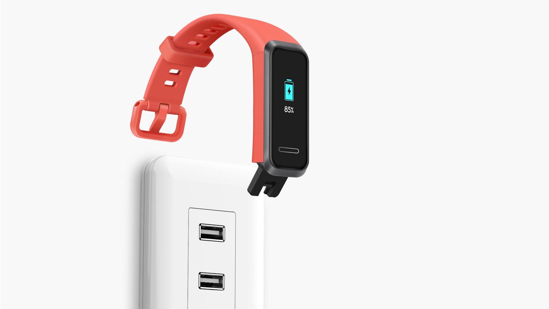 Le nouveau bracelet Huawei Band 4 intègre de l'USB-A pour la charge