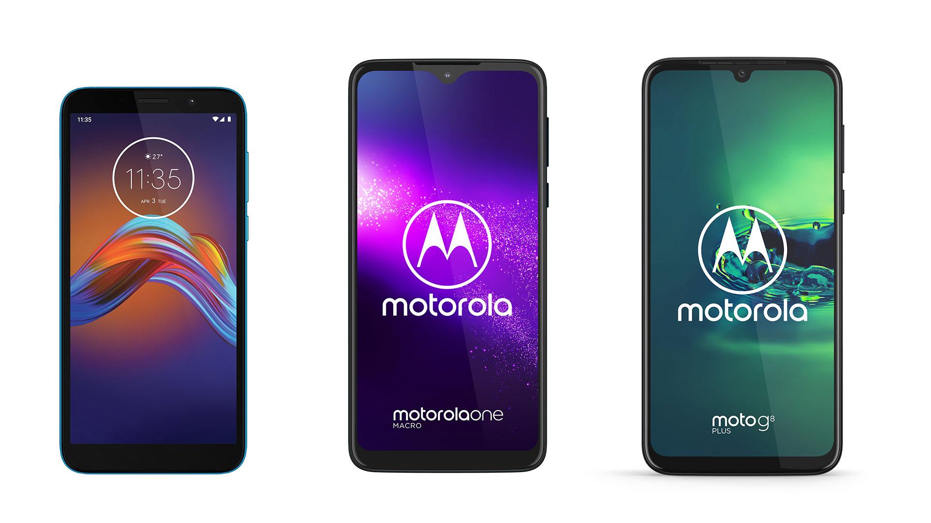 Motorola One Macro, Moto G8 Plus et Moto e6 Play officialisés : prix, caractéristiques et disponibilité