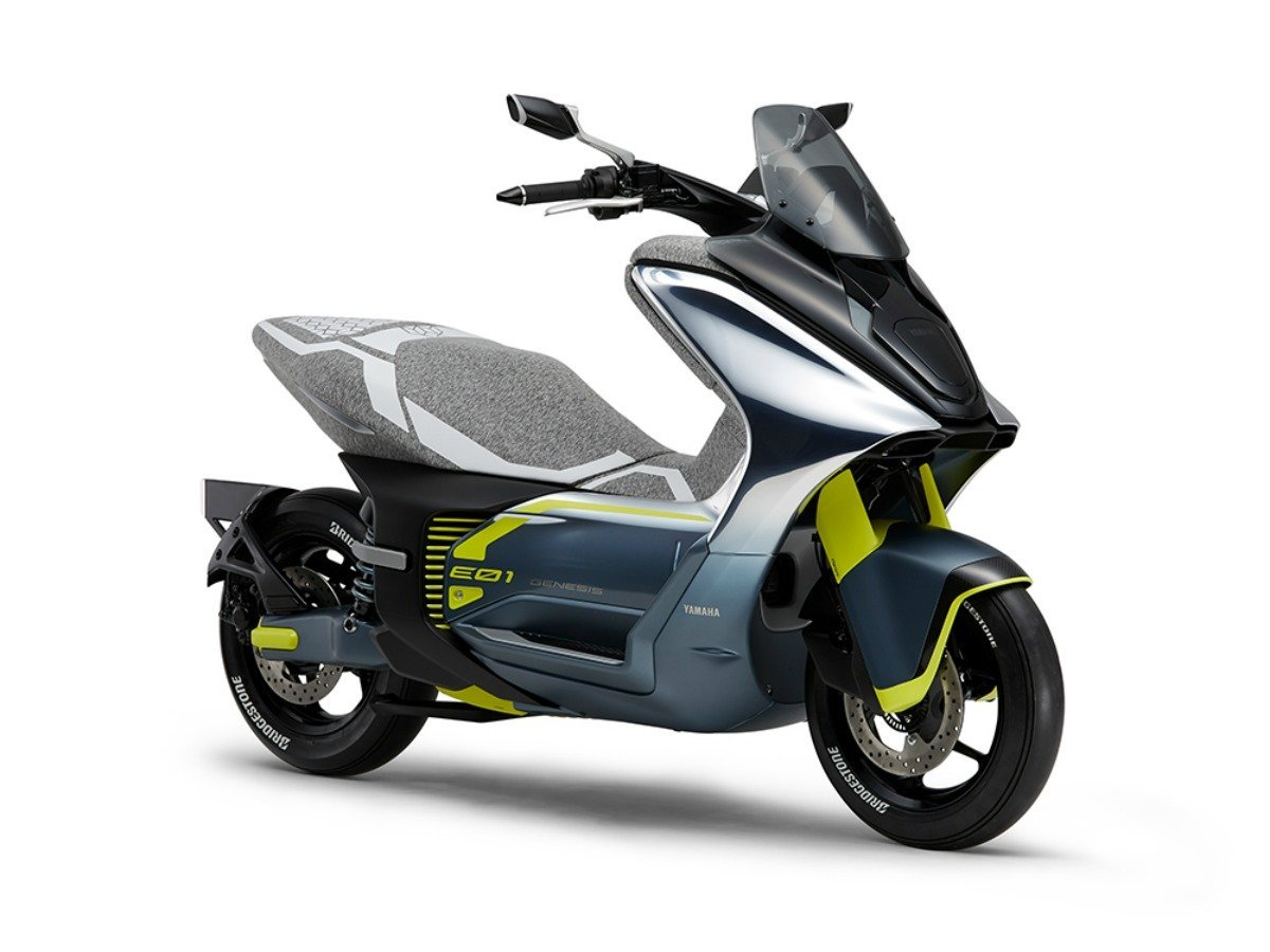 Scooter électrique: le 125cc YamahaEC01 s'approche bien de la commercialisation