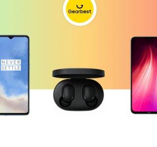 OnePlus 7T 256 Go à 458 euros, Redmi Note 8 à 141 euros et Redmi AirDots à 15 euros