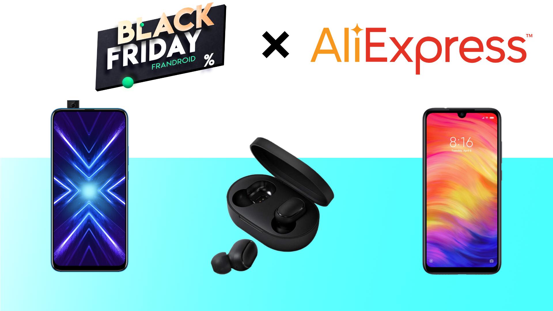 Pour le Cyber Monday AliExpress casse les prix : Honor 9X à 162 euros et Redmi Note 7 à 153 euros