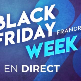 Black Friday Week : voici nos meilleures offres tech en direct