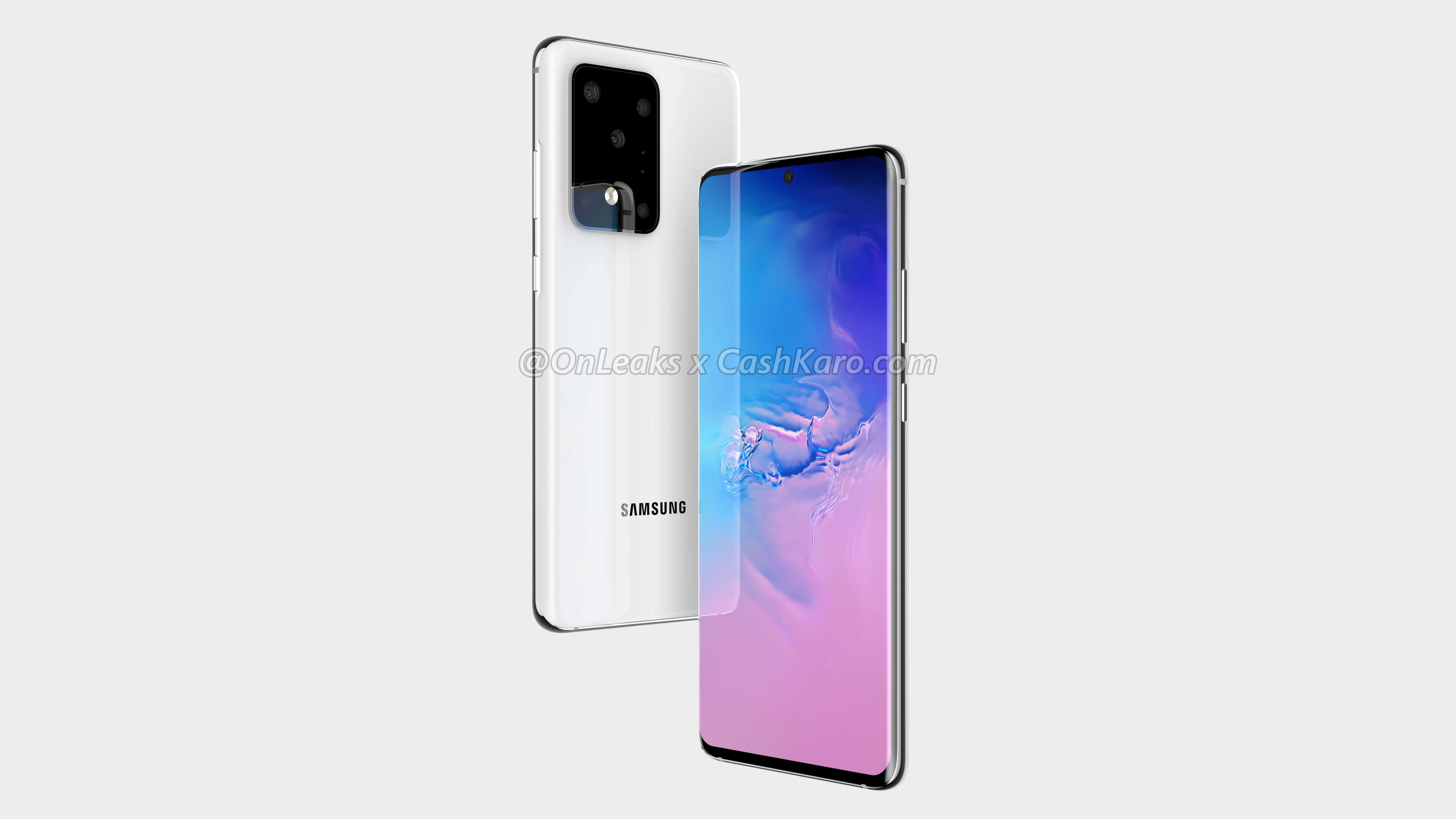 Samsung Galaxy S20, S20+ et S20 Ultra : leurs fiches techniques complètes apparaissent en fuite