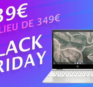 Pour la Black Friday Week, ce Chromebook HP chute à moins de 240 euros