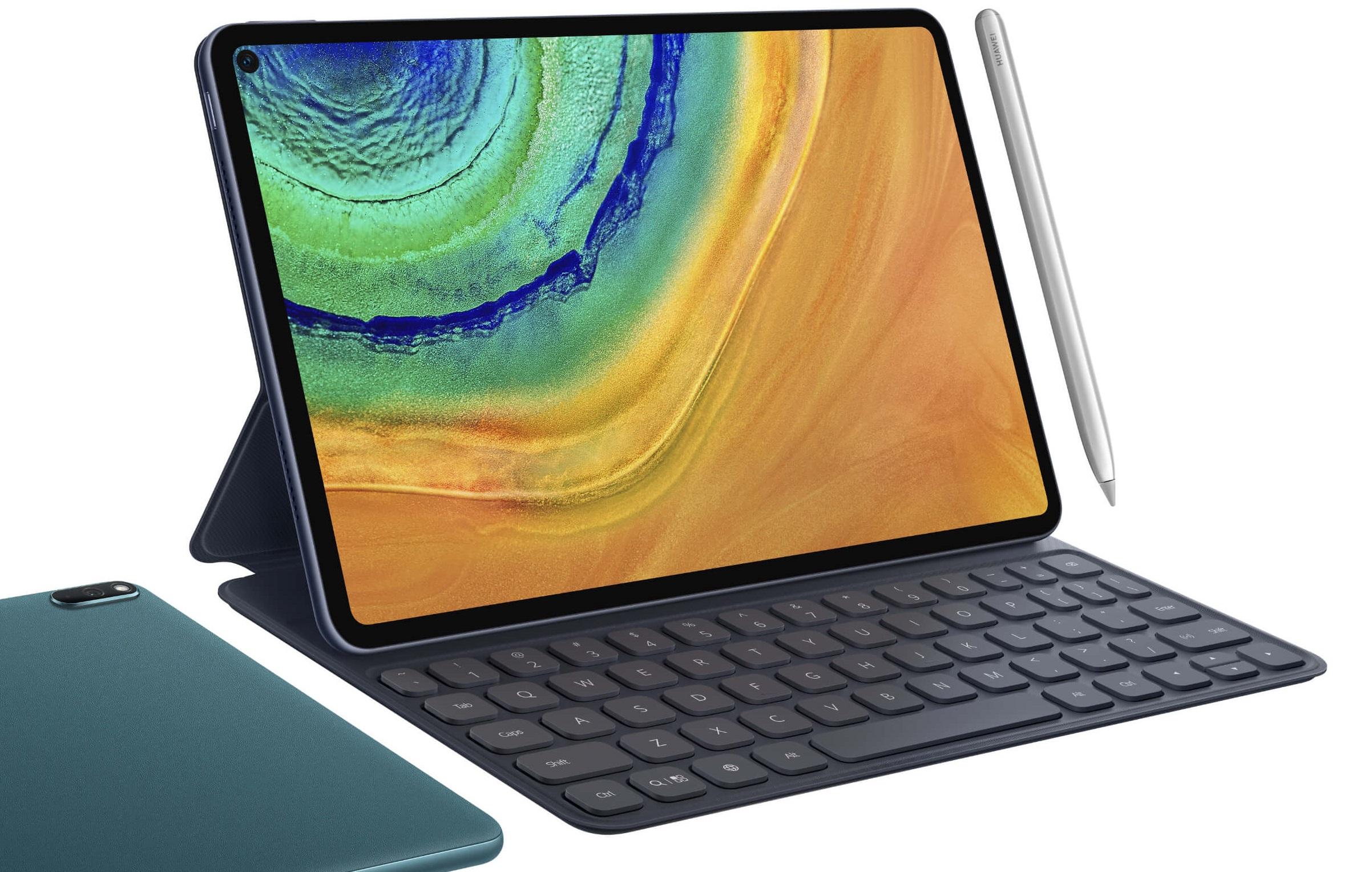 MatePad Pro : Huawei officialise sa tablette haut de gamme à écran percé