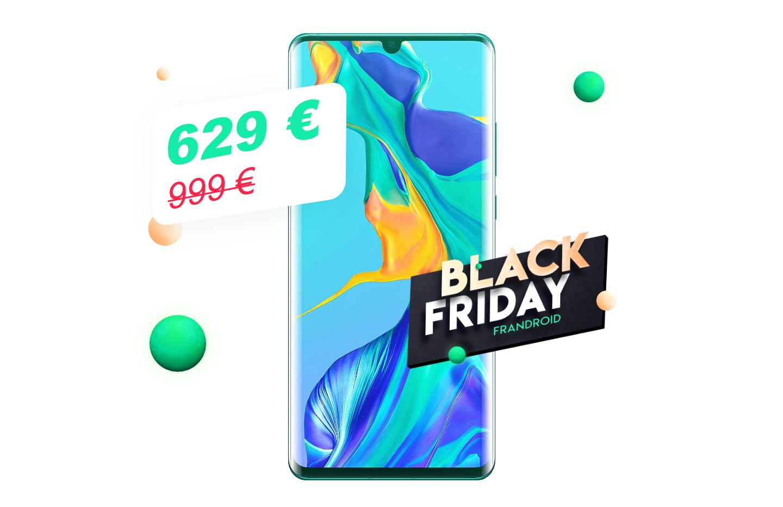 Huawei P30 Pro : pour la Black Friday Week, il est moins cher sur Amazon que chez les autres