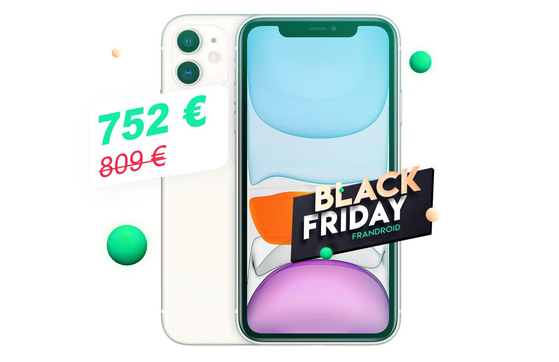 Bonne nouvelle, le Black Friday fait aussi chuter le prix de l'iPhone 11
