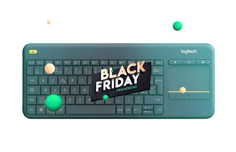 Logitech K400 Plus : un clavier avec touchpad très pratique à 16,99 pendant le Black Friday