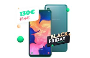Le Samsung Galaxy A10 encore plus abordable durant le Black Friday