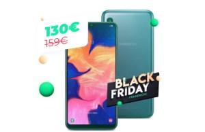 Le Samsung Galaxy A10 encore plus abordable durant le Black Friday
