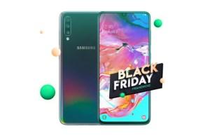 Le Samsung Galaxy A70 passe à 369 euros au lieu de 409 pour le Black Friday