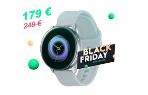 La montre connectée Samsung Galaxy Watch Active descend à 179 € pour le Black Friday