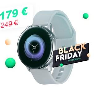 La montre connectée Samsung Galaxy Watch Active descend à 179 € pour le Black Friday