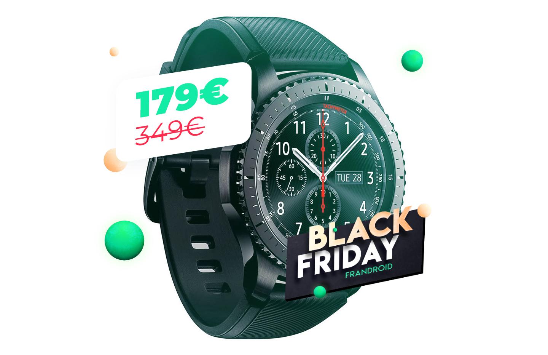 La montre Samsung Gear S3 Frontier à 179 euros : il est l'heure de craquer avec le Black Friday