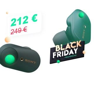 SonyWF-1000XM3 : les meilleurs écouteurs sans fil sont en promotion pour le Black Friday