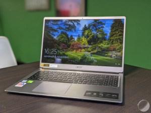 Test de l'Acer Swift 3 (2018) : pertinent pour tous