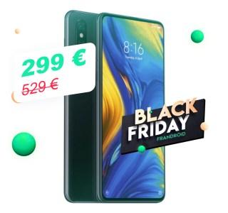 Le Xiaomi Mi Mix 3 descend pour la première fois sous les 300 euros grâce au Black Friday