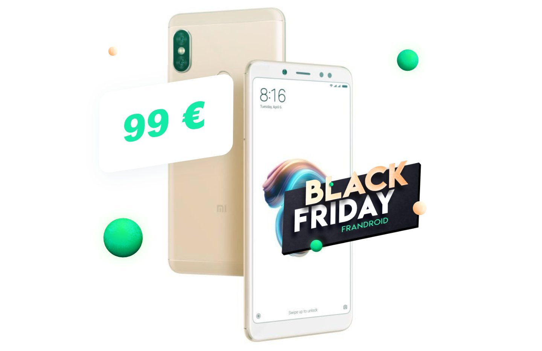 Seulement 99 € pour le légendaire Xiaomi Redmi Note 5 pendant le Black Friday