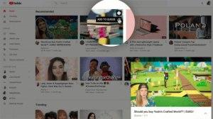 YouTube : nouveau design en cours de déploiement pour le web