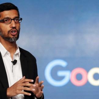 Les cofondateurs de Google, Larry Page et Sergey Brin, cèdent le contrôle d'Alphabet à Sundar Pichai