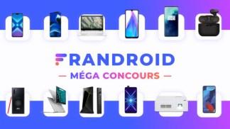 Dernières heures pour participer au méga concours Frandroid