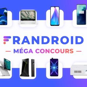 Méga concours Frandroid : voici les gagnants !