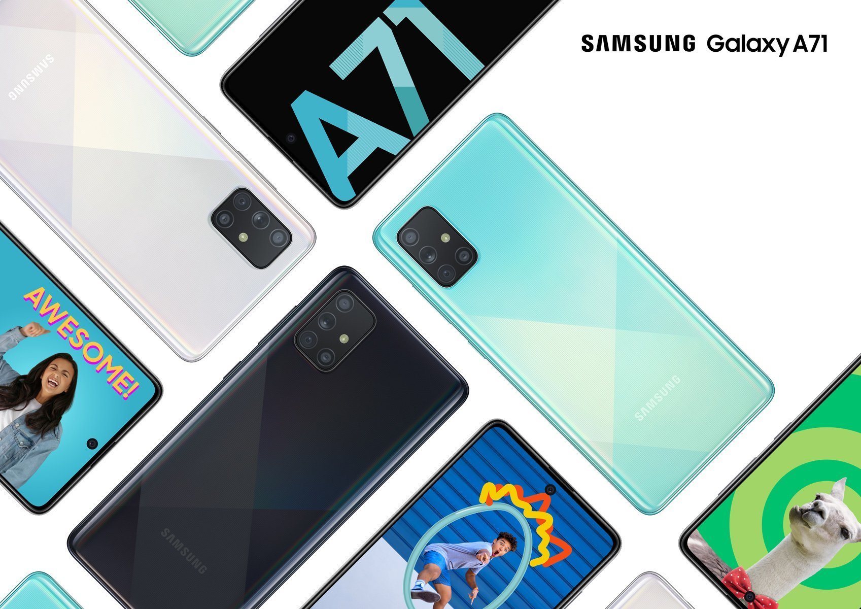 Samsung Galaxy A71 officialisé : comme un air de Galaxy A51 Plus