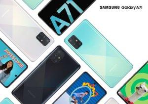 Samsung Galaxy A71 officialisé : comme un air de Galaxy A51 Plus