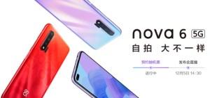 Le Huawei Nova 6 se dévoile en partie… et rappelle le Honor View 30