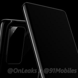 Huawei P40 et P40 Pro : voici un premier aperçu des smartphones
