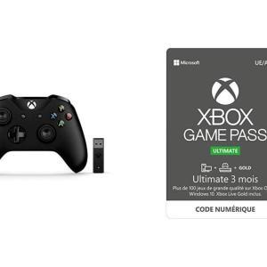 Xbox Game Pass Ultimate : 3 mois offerts via l'achat d'une manette sans fil