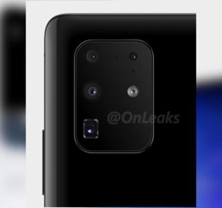 Samsung Galaxy S11+: l'agencement du module photo revu et corrigé dans ce nouveau rendu