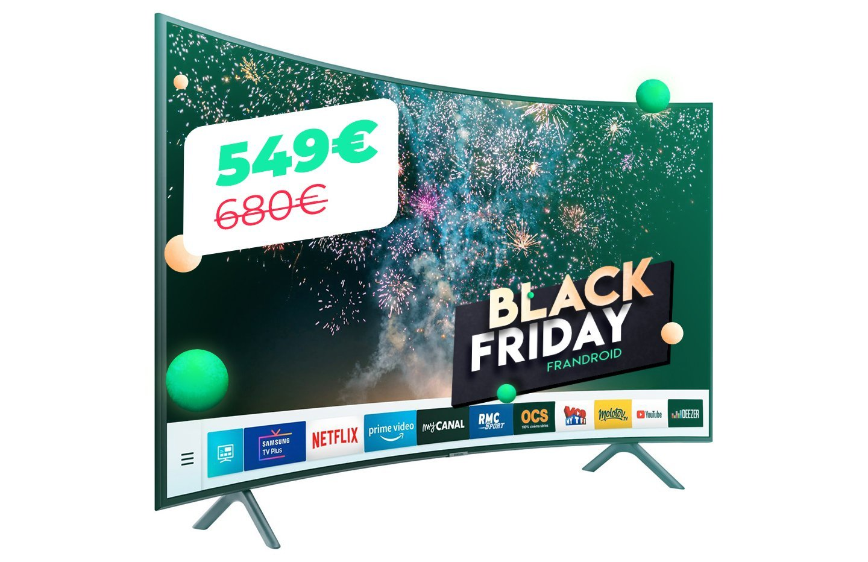 TV Samsung : 10 euros le pouce pour un modèle 4K HDR incurvé pour le Black Friday
