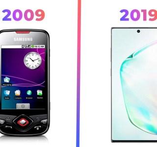 Le «10 years challenge» : la tech de 2009 a-t-elle pris un coup de vieux ?