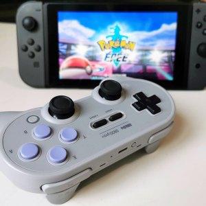 Test de la 8bitdo SN30 pro+: plus besoin de manette Switch Pro
