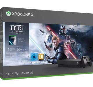À saisir, le pack Xbox One X + Star Wars chute à 269euros sur Amazon (et fnac.com)