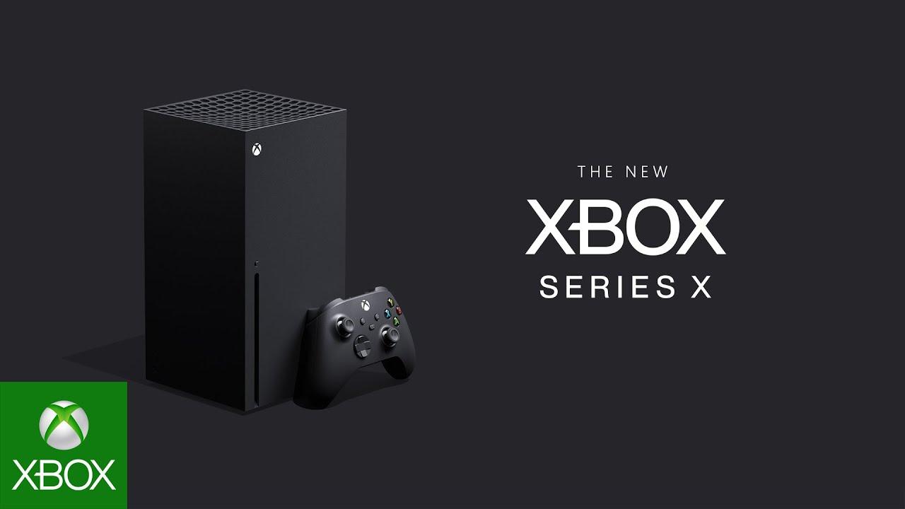 Microsoft Xbox Series X : la Scarlett dévoile son nom, son design, sa manette et son premier jeu exclusif