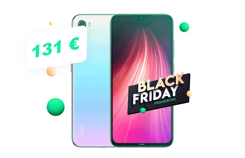 Xiaomi Redmi Note 8 à 131€, c'est le meilleur rapport qualité/prix du Black Friday