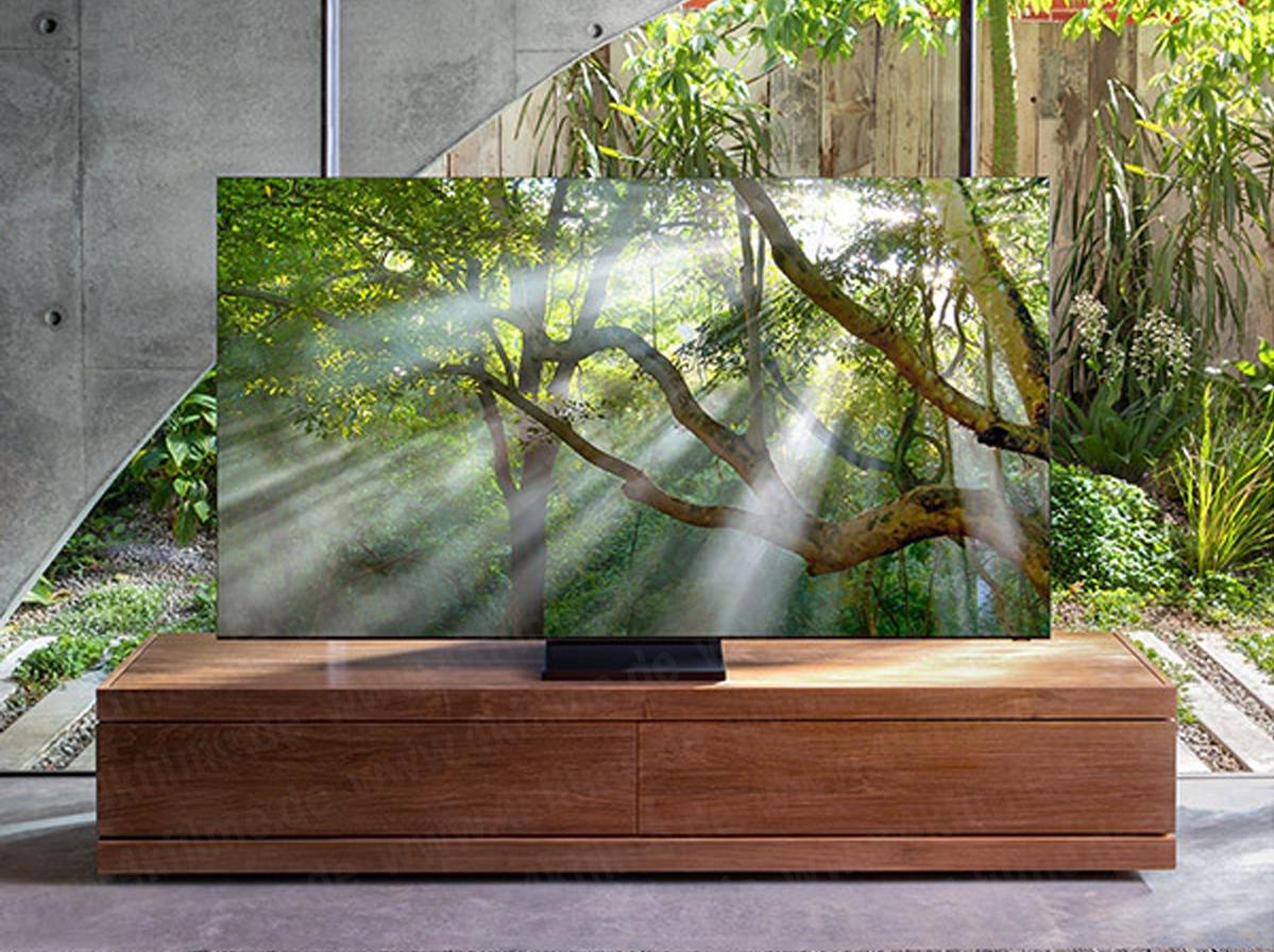 Voici les premières photos des téléviseurs Samsung 8K QLED sans bordures