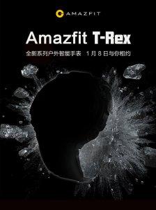 Huami Amazfit T-Rex : la prochaine montre Xiaomi annoncée au CES 2020