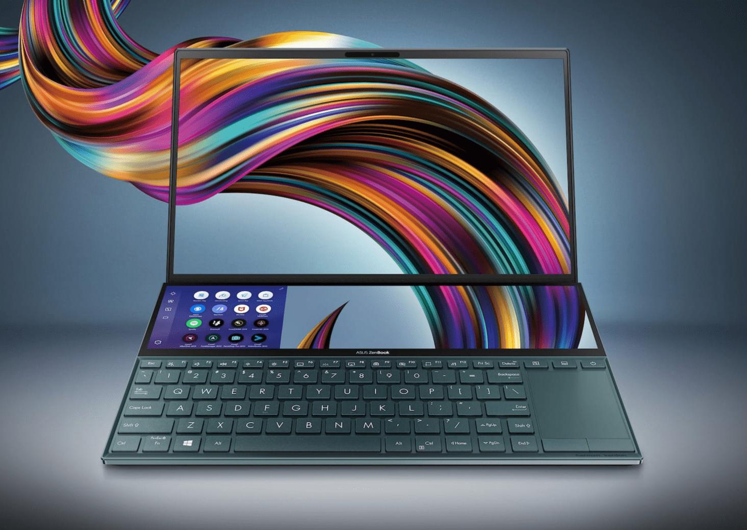 ASUS dévoile une nouvelle version du ZenBook Duo, plus portatif que le Pro Duo