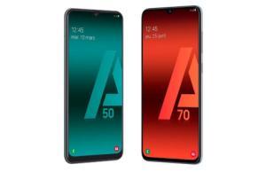 Amazon déstocke les Samsung GalaxyA50 et A70 avant la sortie des A51 et A71