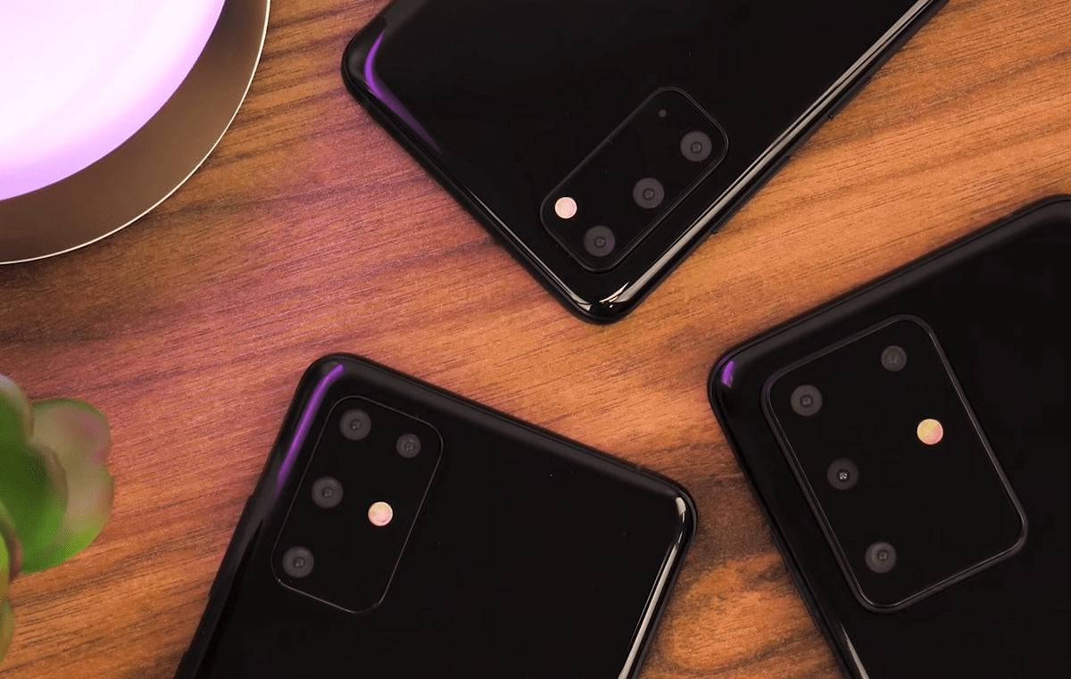 Samsung Galaxy S20 : voici à quoi ressembleront les trois modèles en main
