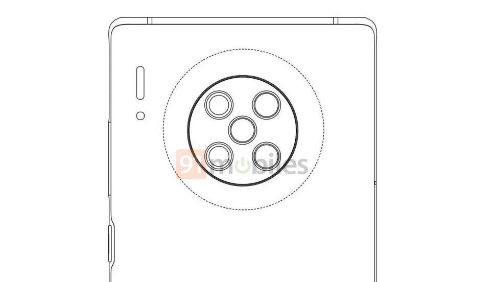 Le Huawei Mate 40 Pro embarquerait 5 capteurs photo arrières… rien que ça