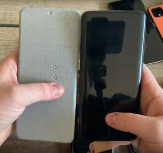 Samsung Galaxy S20, S20+ et S20 Ultra: comparez leurs dimensions avec ces maquettes factices